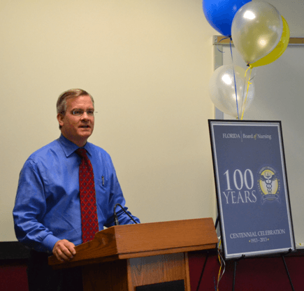 Dr. John H. Armstrong at the Centennial Celebration
