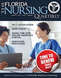 Florida Nursing Quarterly Publication